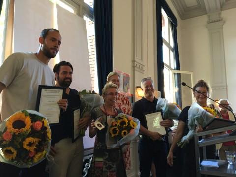 Els Annegarn ontvangt Penning Sportraad Amsterdam 2018