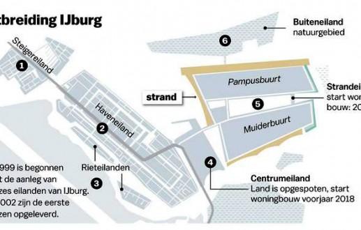 Advies stedenbouwkundig plan Strandeiland – IJburg 2